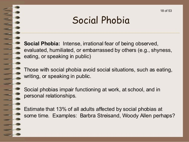 fears phobias opinion paper Phobias are distressing emotions here are the top 10 phobias of all time i know many people with tiny fears and maybe even small phobias that don't.