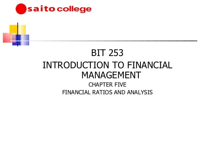 Introduction to accounting chapter 5