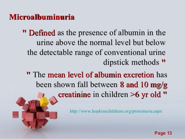 introduction to a child with proteinuria