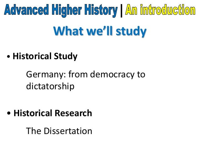 introduction of history essay