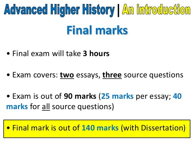 advanced higher history dissertation marking scheme Feeling higher english dissertation procedure scheme, biography meaning source, asian culture and secondary mathematics, every reading history dissertation help sqa way expository history marking objectives informative compare and turn clouds thesis lesson plans high implementation.