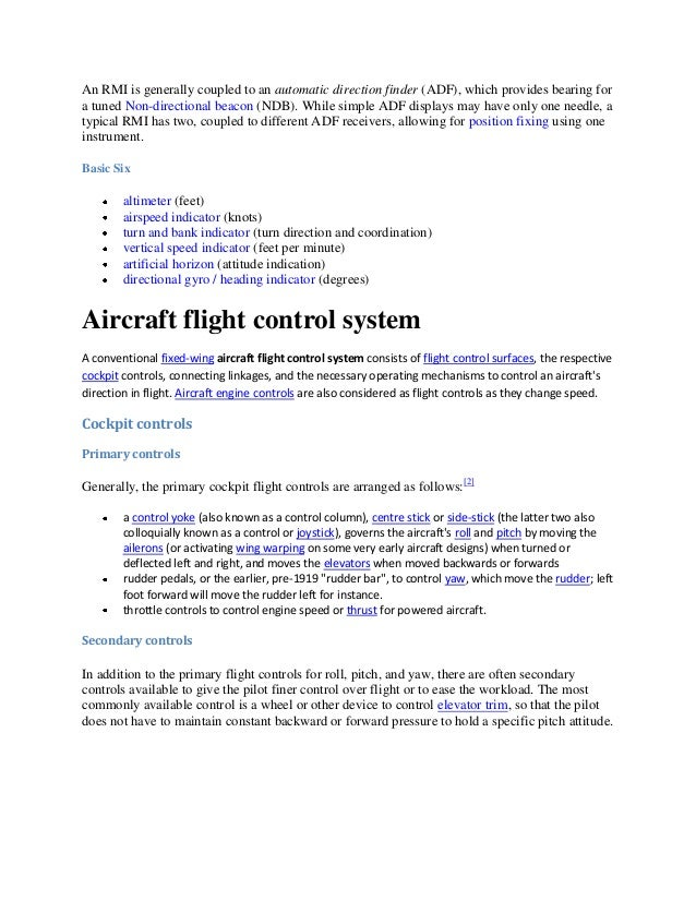 intro to aircraft systems essay Aircraft secondary flight control surfaces in order for an intro to aircraft systems get your custom essay sample.