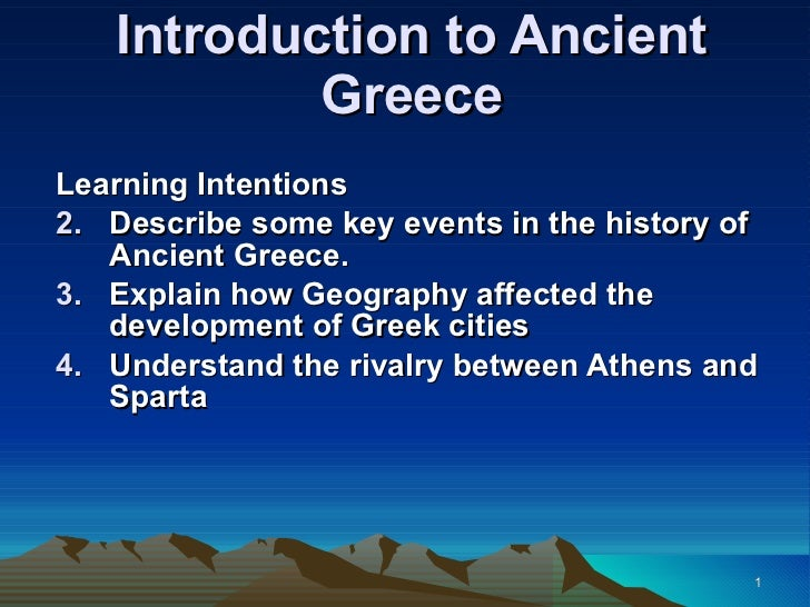 an introduction to the history of ancient greece Economic and social history of ancient greece by m m austin (author), p vidal -naquet (author) february 1981 first edition paperback $3495.