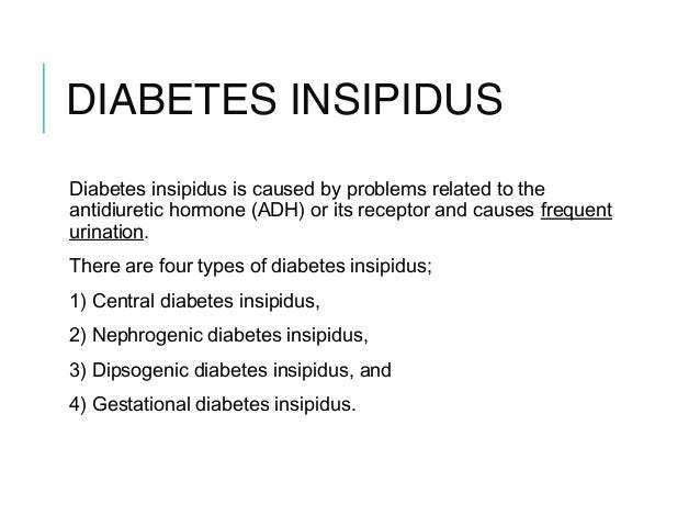 research paper diabetes insipidus Medical research for diabetes insipidus including cure research, prevention research, diagnostic research, and basic research.