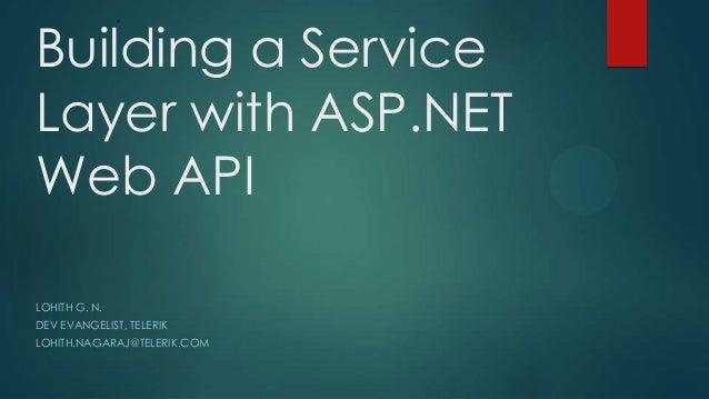 Introduction to asp.net web api