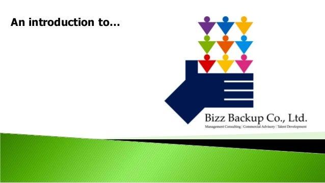 Introduction to bizz backup co., ltd. r5 eng