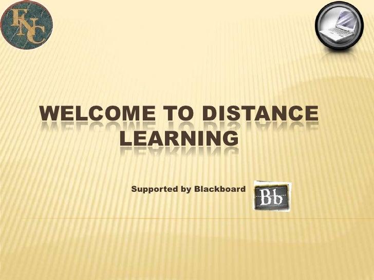 Introduction To Blackboard  Training