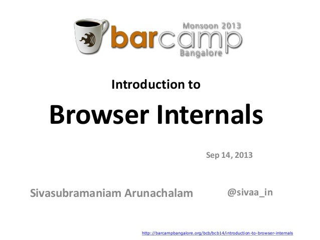 Introduction to Browser Internals