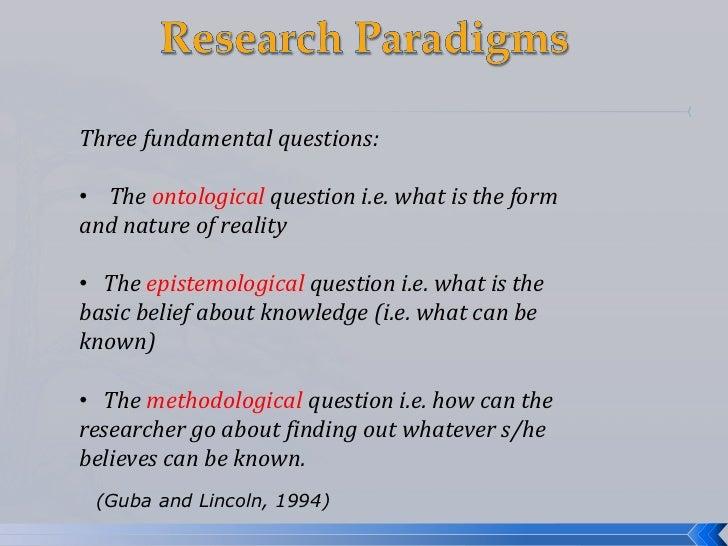 epistemological
