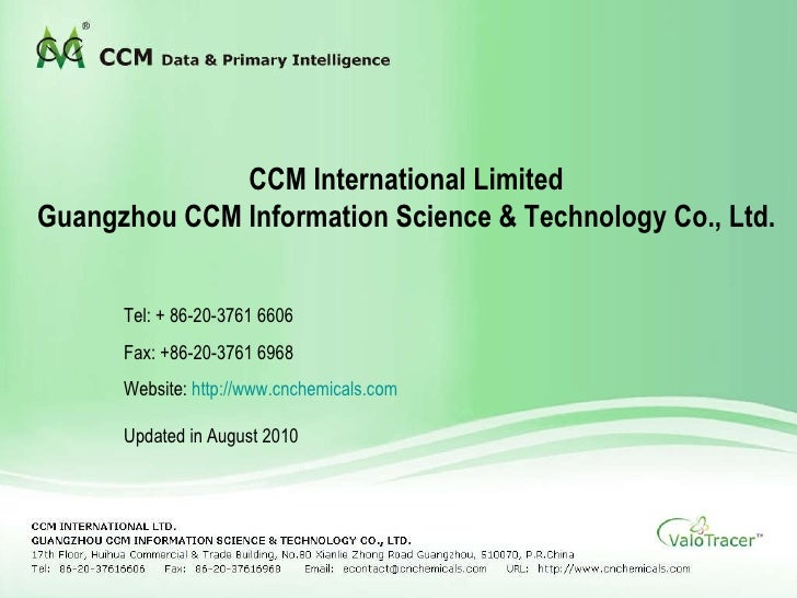data & primary intelligence                    CCM International Limited     Guangzhou CCM Information Science & Technolog...