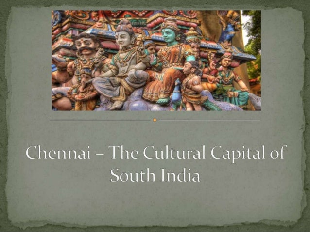 Introduction to chennai