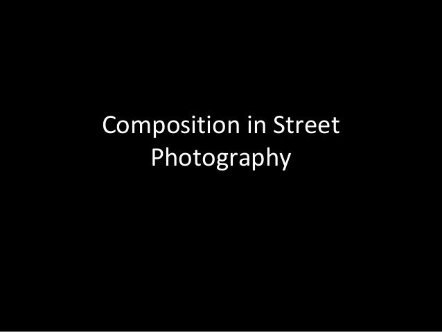 Introduction to Composition for Street Photography (Gulf Photo Plus 2014)