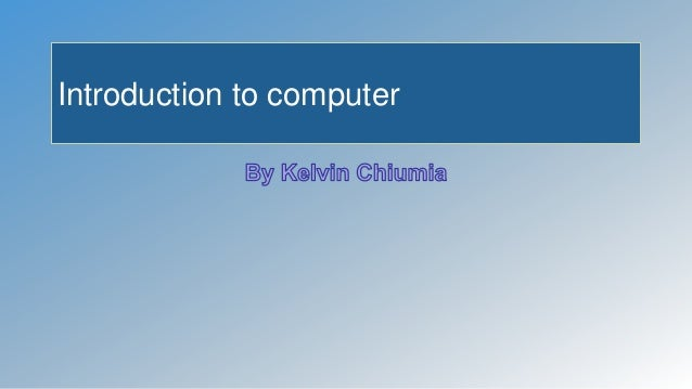 introduction to orgcomm