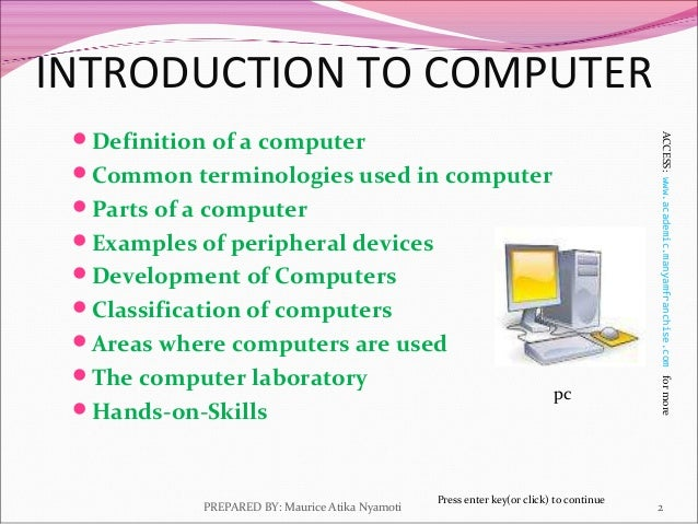 an introduction to the issue of pc computing Majority of the population in a big country relies on public computing units  this offers the pc like  as their problems get resolved by the issue handling.