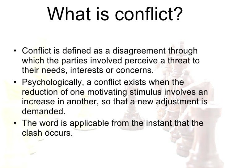introduction to conflict This practical and insightful booklet, designed to accompany the tki assessment, provides the next step in understanding and applying results from the tki.