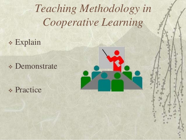 an overview of the cooperative approach to learning Cooperative learning links sample jigsaw lesson for range of ells an overview of cooperative learning roger t and david w johnson, this resource also includes an article on cooperative learning and inclusion by mara testimonials and articles about the effectiveness of this approach.