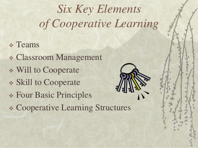 Collaborative Learning Classroom Management ~ Introduction to the structural approach cooperative