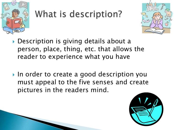 Introduction of a descriptive essay