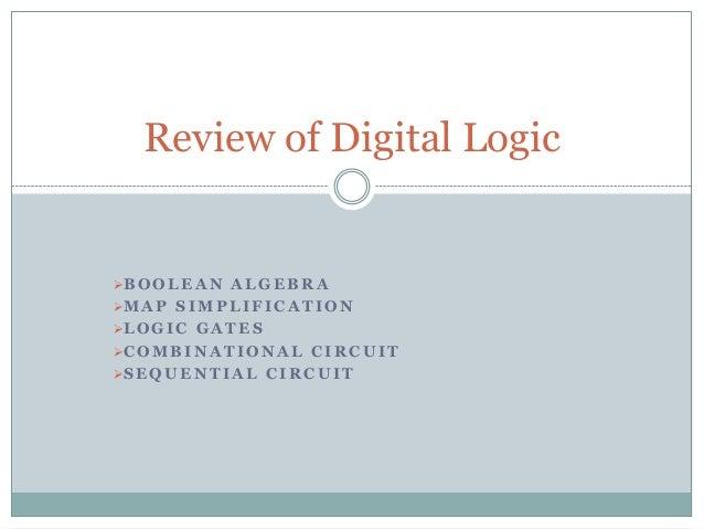 Introduction to digital logic