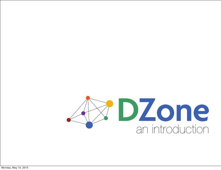 Introduction to DZone