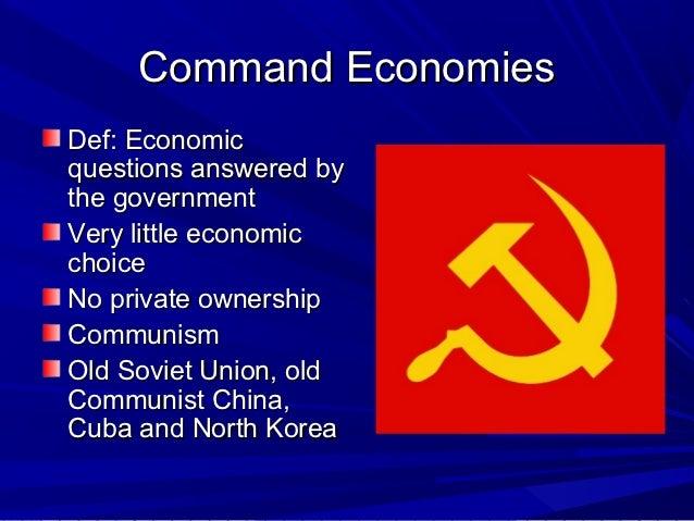Capitalism, Socialism and Communism