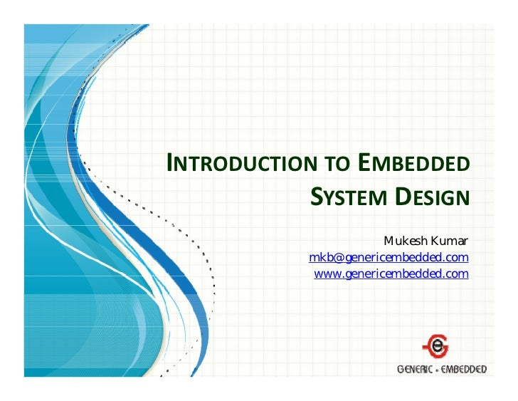 Models for Distributed Embedded System Design: an essay