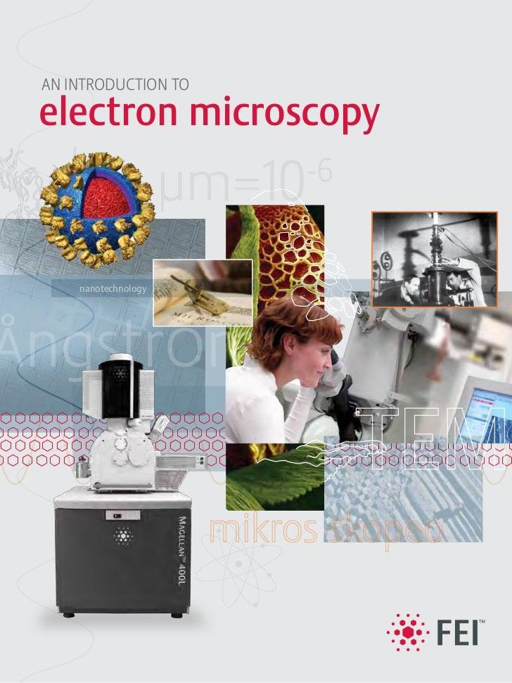 AN INTRODUCTION TOelectron microscopy    nanotechnologyngstr m