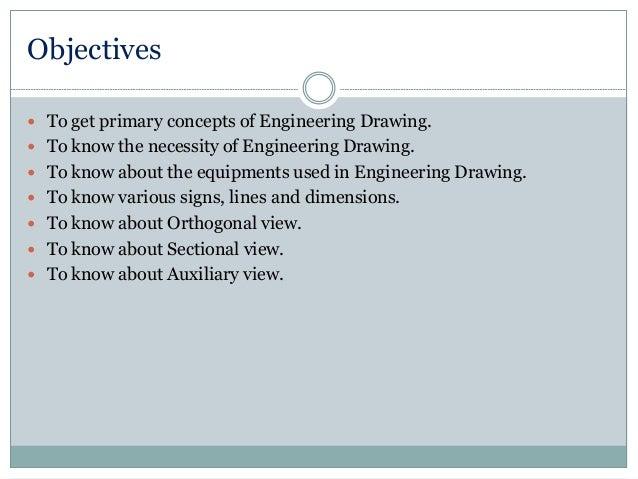 Purpose of Engineering Drawings of Engineering Drawing