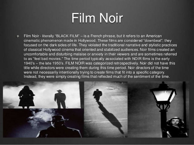 Film Noir A Style Spanning Genres Essay The Count Of Monte Cristo