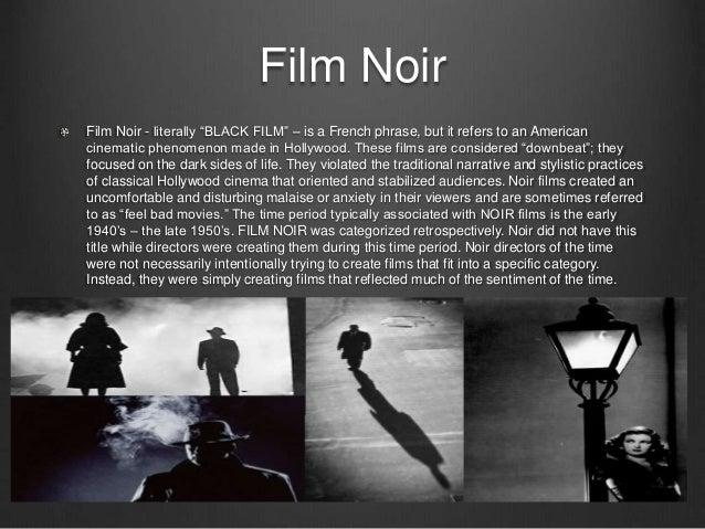 Film noir essay