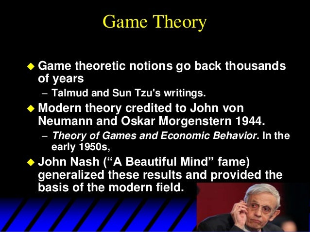 introduction to game theory pdf