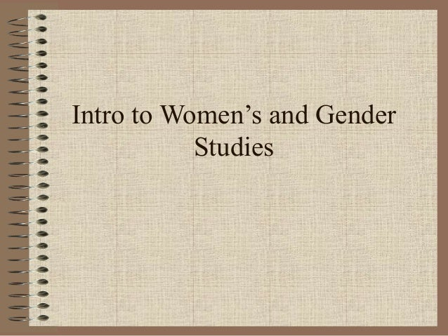 Intro to Women's and Gender Studies