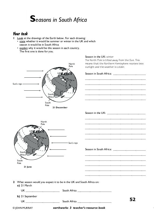 Free world geography worksheets middle school
