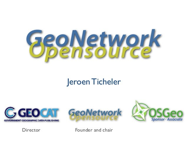 Jeroen TichelereoNetworkpensourceDirector Founder and chair