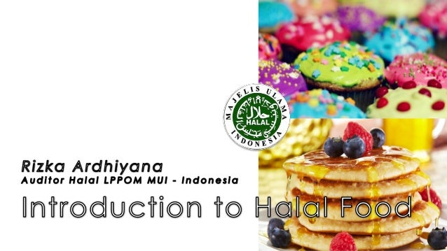 Introduction to halal food