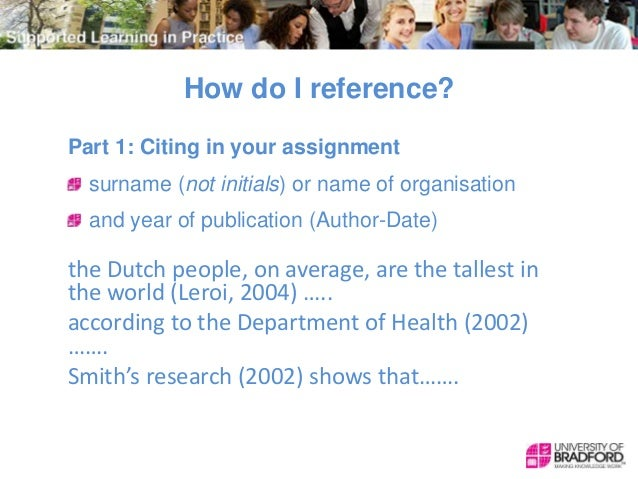 Assignment referencing