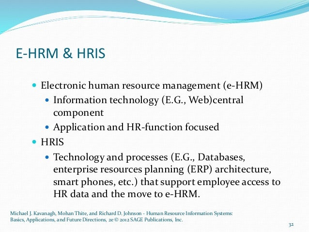 human resource information systems basics applications and future directions by kavanagh michael j a Human resource information systems basics, applications, and future directions michael j kavanagh the university at albany mohan thite griffith university, australia.