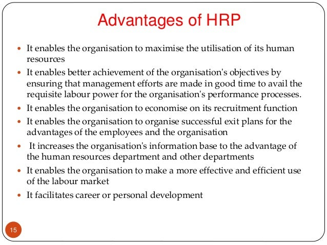 human resources and responsibilities essay