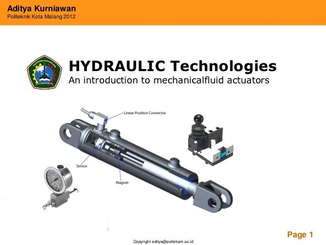 Introduction to hydraulic