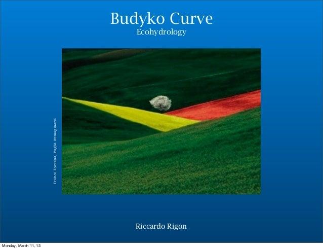 Budyko Curve                                                               Ecohydrology                       Franco Fonta...