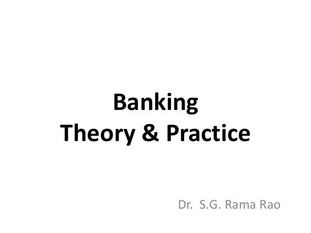 Banking Theory