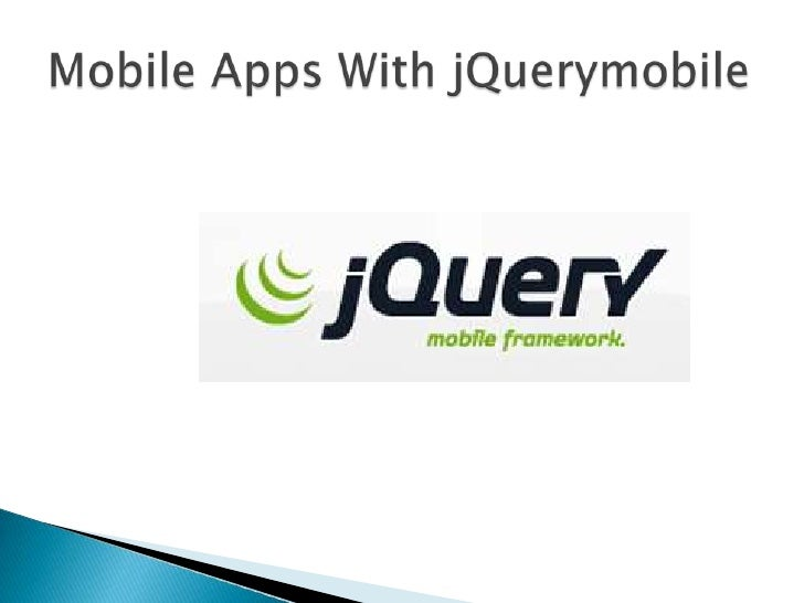 Introduction to jQueryMobile
