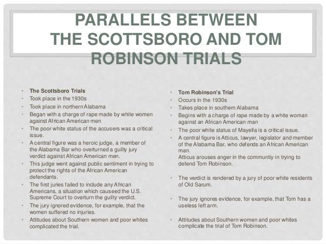 scottsboro trial and to kill a mockingbird essay