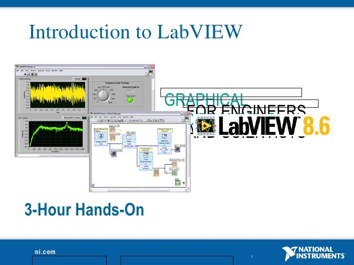 Introduction to LabVIEW                                   GRAPHICAL                                     FOR ENGINEERS     ...