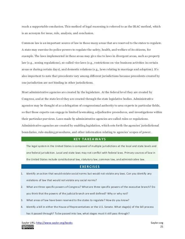 Legislation in teaching essay