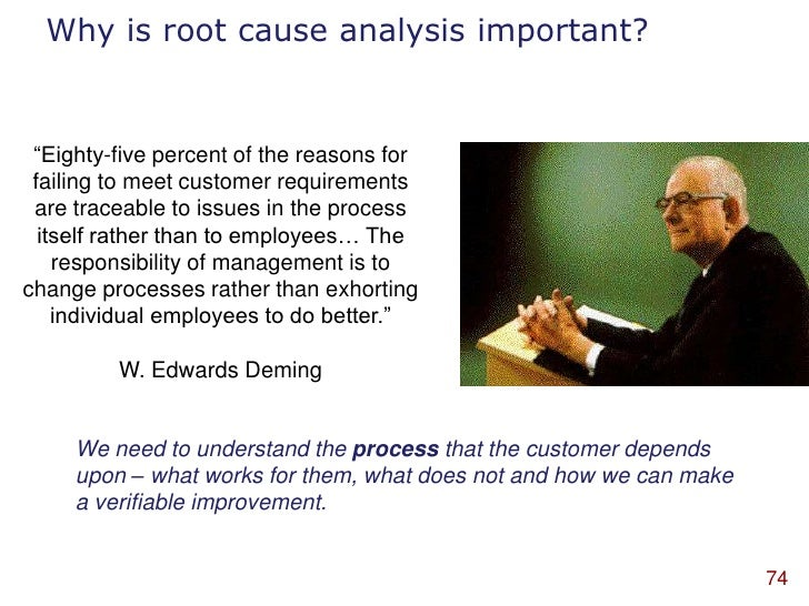 Root Cause Analysis Clipart Why is Root Cause Analysis
