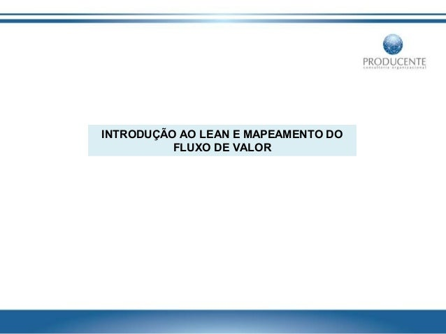 Introduction to lean & vsm