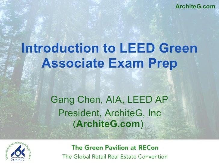 Introduction to leed green associate exam prep by gang chen