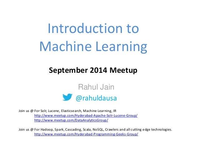 machine learning functionality