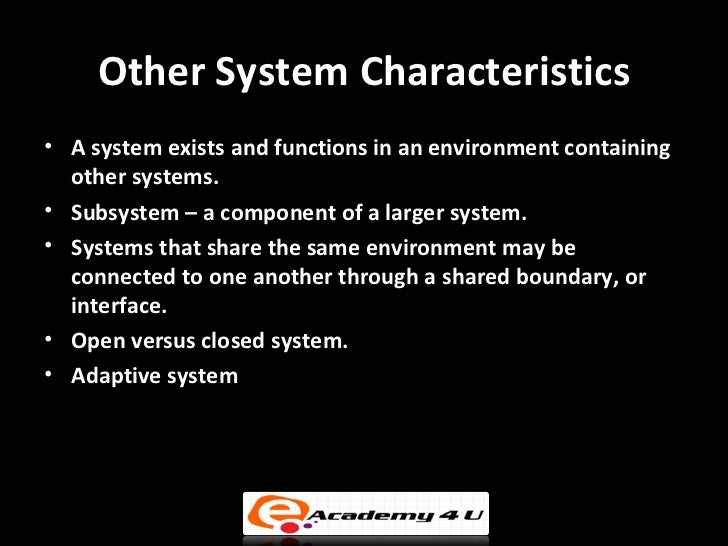 management information system characteristics Systems management can be a failing prospect if you don't have the four key elements in place learn how ignoring processes, data, tools, and organization can stop your systems management effort before it starts the four key elements in effective systems management.